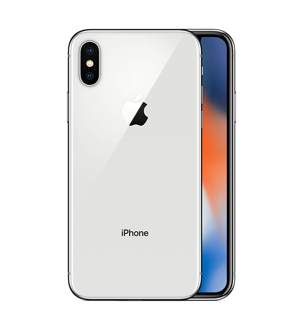 iPhone X 64GB Silver 1