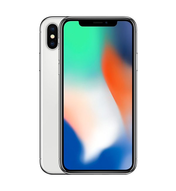 iPhone X 64GB Silver 2