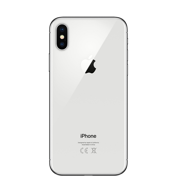 iPhone X 256GB Silver 4