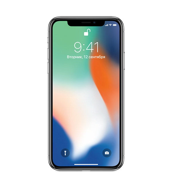 iPhone X 64GB Silver 5