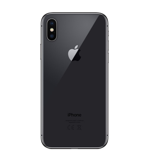 iPhone X 256GB Space gray 4