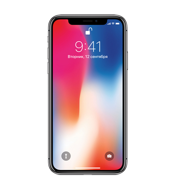 iPhone X 64GB Space gray 4