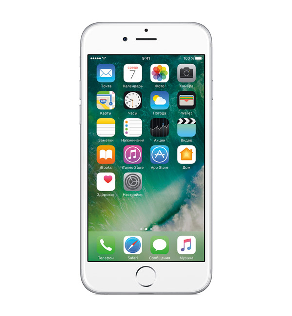 iPhone 6S+ 128GB Silver 1