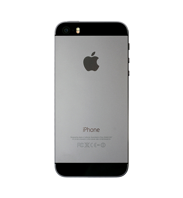 iPhone 5s 16GB Space gray 3