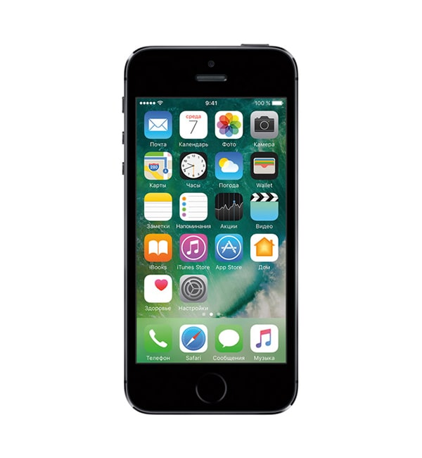 iPhone 5s 16GB Space gray 1