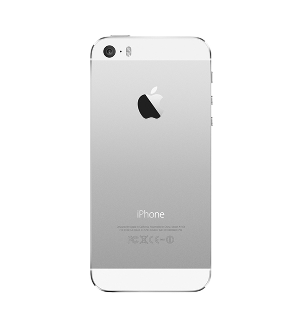 iPhone 5s 16GB Silver 3